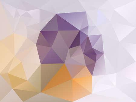 Polygon abstract pattern. Illustration