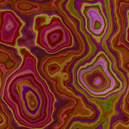 marble agate stony seamless pattern texture background - vivid burgundy, red, purple, violet, green, blue and pink color surface