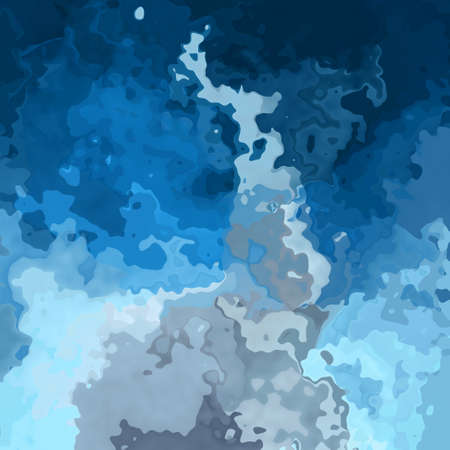 abstract stained pattern texture background sky blue with gray cloud colors - modern painting art - watercolor effect