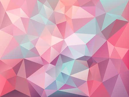Abstract irregular polygon pattern.