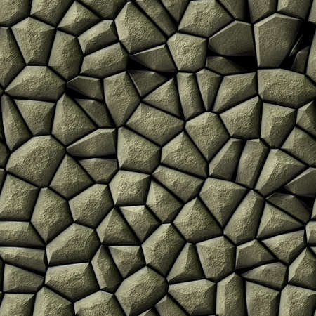 cobble stones irregular mosaic pattern texture seamless background - pavement natural gray colored