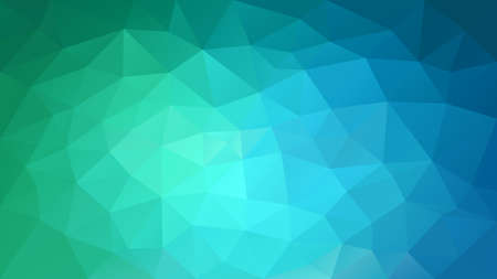 Vector abstract irregular polygonal background