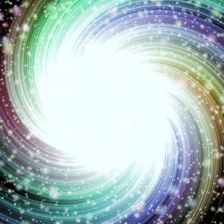 space neon burst swirling star pattern texture background milky way