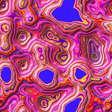 marble agate stony seamless pattern texture background - highlight pink and royal blue color - rough surface