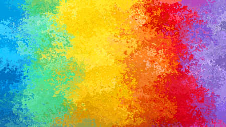 abstract stained pattern texture rectangle background vertical striped rainbow full color spectrum - modern painting art - watercolor effect
