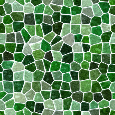 surface floor marble mosaic pattern seamless background with white grout - emerald green color 版權商用圖片