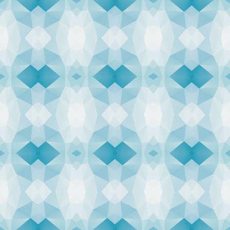 mosaic kaleidoscope seamless pattern texture background - light baby cerulean blue colored