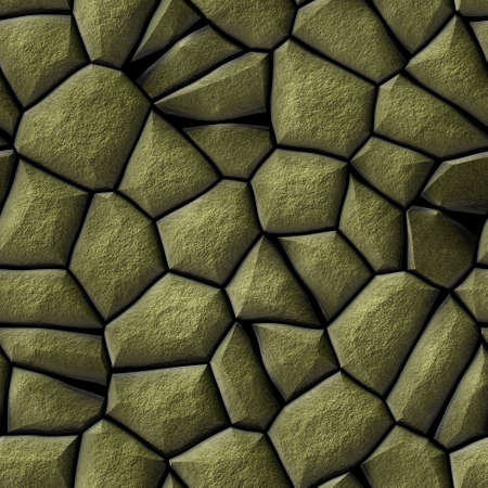 cobble stones irregular mosaic pattern texture seamless background - pavement  gold natural colored pieces