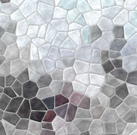 abstract nature marble plastic stony mosaic tiles texture background with gray grout - slate grey and mauve purple colors