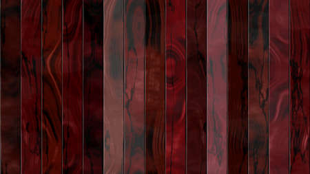 seamless pattern texture background - mahogany red colored woody fence planks