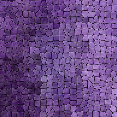 abstract nature marble plastic stony mosaic tiles texture background with black grout - dark ultra violet lavender purple colors 版權商用圖片