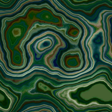 marble agate stony seamless pattern texture background - dark malachite green color with smooth surface