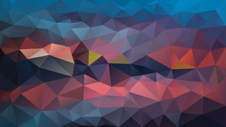 vector abstract irregular polygon background - triangle low poly pattern - teal blue purple violet pink color