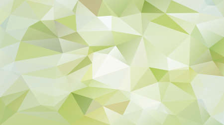 vector abstract irregular polygon background - triangle low poly pattern - light lime cucumber green color