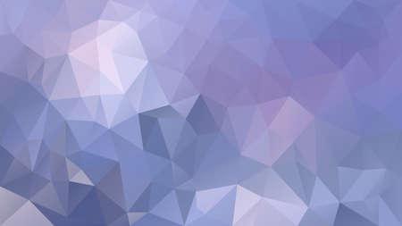 vector abstract irregular polygon background - triangle low poly pattern - light pastel lavender purple violet color  Ilustração