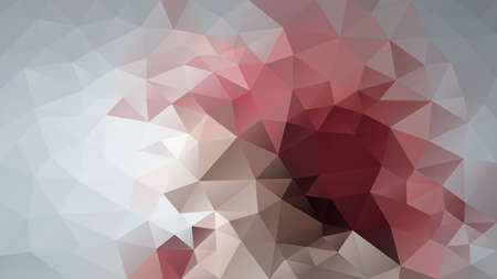 vector abstract irregular polygon background - triangle low poly pattern - color grey old pink mauve brown