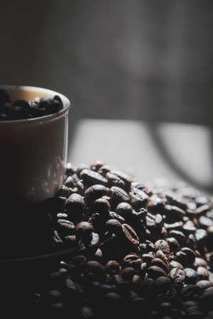 Early morning coffee beans keep you awake.