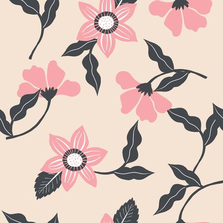 This pattern is perfect for textile, home decor, scrap booking, and invitations. Design by Alicia Ard. Vectores