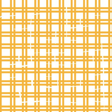 orange plaid textured abstract seamless repeat vector pattern 向量圖像