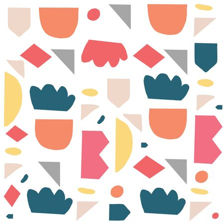 This pattern is great for scrap booking, invitations, birthday parties, textile. Design by Alicia Ard. 版權商用圖片 - 148832263
