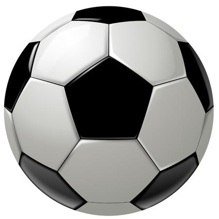 pelota de futbol: Negro y blanco del f�tbol pelota o f�tbol, ??gr�fico de fondo, blanco