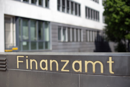 The german word for tax office (Finanzamt)