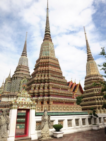 South East Asia Budha temple architecture  Stock Photo