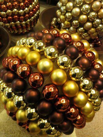 Glittering Christmas balls decorations