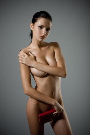 donne nude: Bella sexy giovane donna nuda Archivio Fotografico