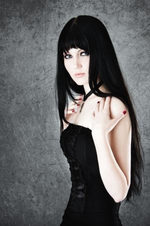 goth: Gothic girl
