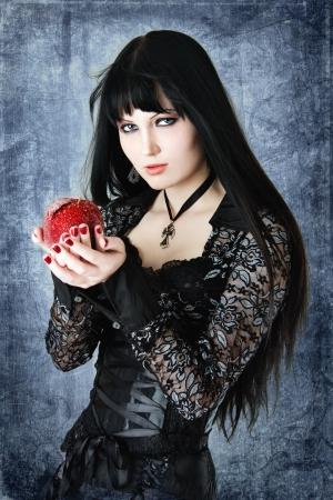 Gothic girl photo