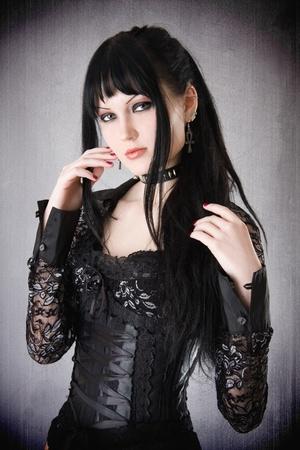 gothic: Gothic girl