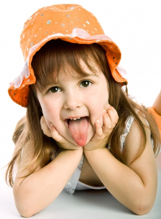 lovely girl: Adorable little girl