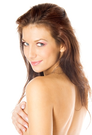 Sexy nude girl Stock Photo