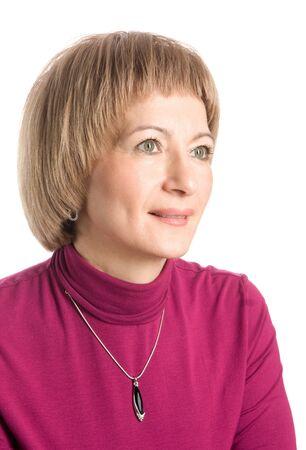 Portrait of a mature woman Stock Photo - 16271027