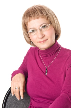 Mature middle-aged woman Stock Photo - 16271089