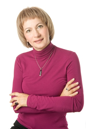 Mature middle-aged woman Stock Photo - 16270952