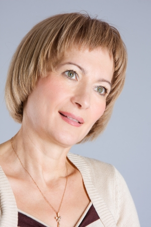 Mature middle-aged woman Stock Photo - 16271075