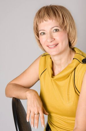 Mature middle-aged woman Stock Photo - 16271109