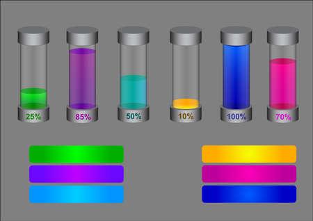 most popular: Liquid tube chart diagram