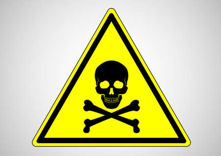 death area safety sign