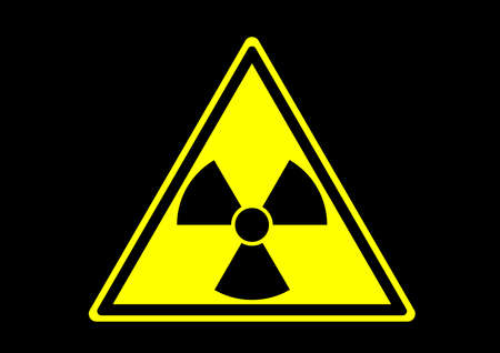 radioactive material safety sign