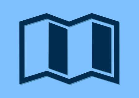 paper sheet flat icon design