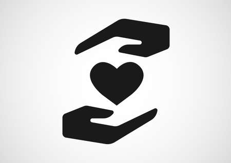 healthy insurance logo design Reklamní fotografie - 101180011