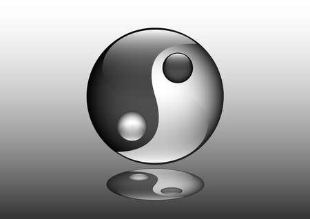 yin yang chinese logo