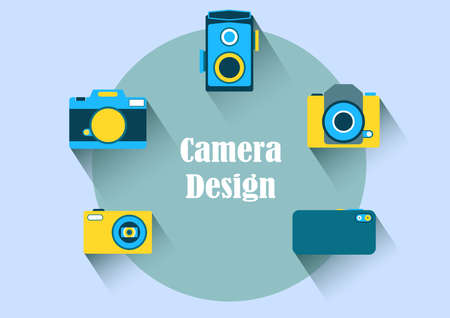 camera icon pack illustrations