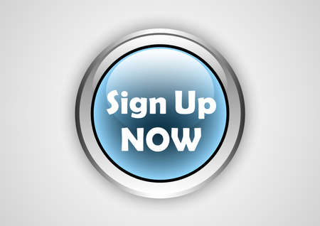 sign up web button Vettoriali