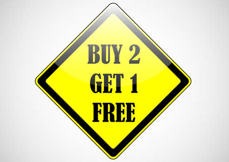buy 2 get 1 free custom banner