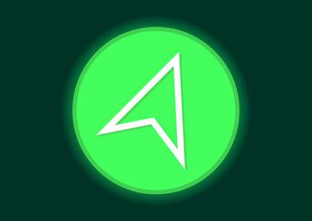 look around arrow direction symbol