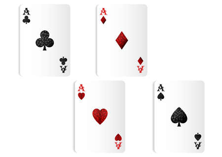 Ace playing cards symbol